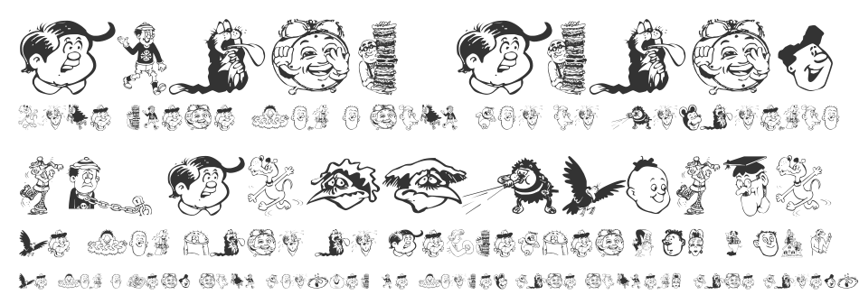 Toons One font