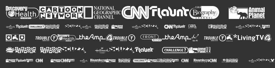 UK TV logos Font | UK TV logos Typeface | Free Fonts and Web