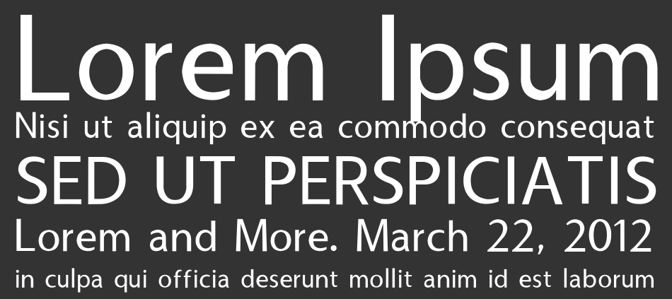 Usuality font