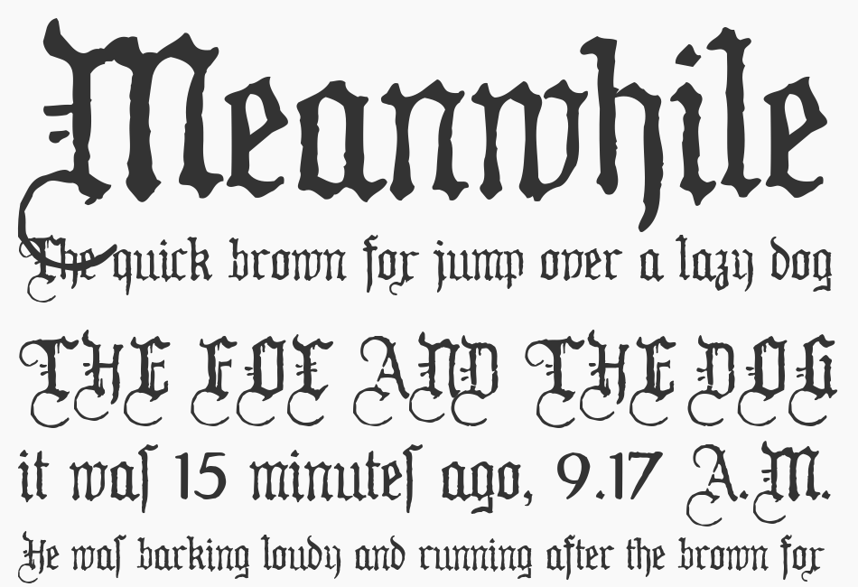 WW2Blackletter, HPLHS