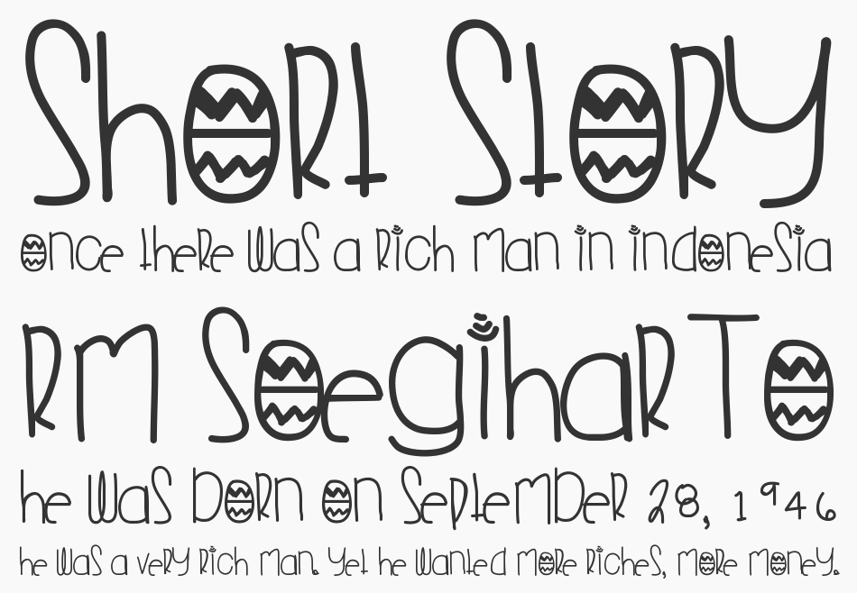 Young Folks font