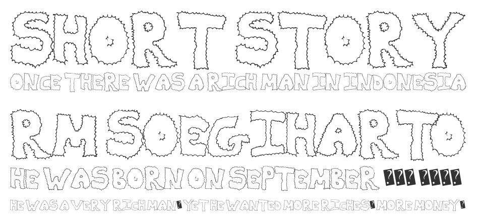 ZapDeal font